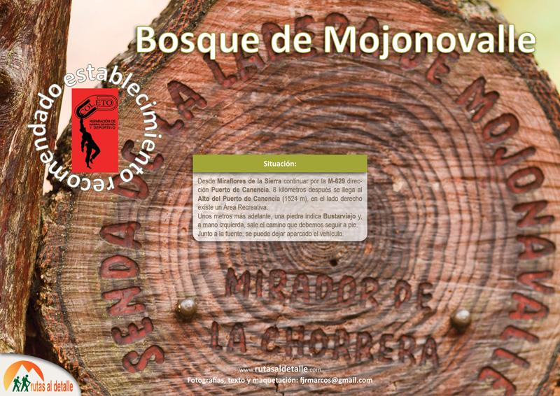 La Ruta Bosque de Mojonovalle. Canencia.-Madrid,