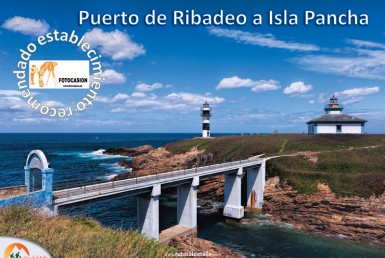 Ruta Puerto de Ribadeo a Isla Pancha