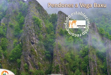 Ruta de Pendones a Vega Baxu