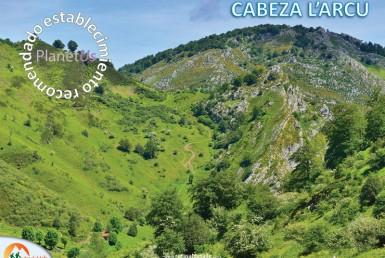 Ruta Cabeza L'Arcu desde Caleao