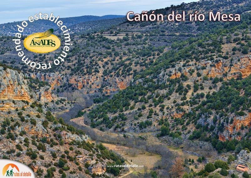 Ruta Cañón del río Mesa desde Mochales