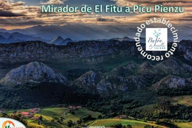 Ruta Mirador del Fitu a Picu Pienzu
