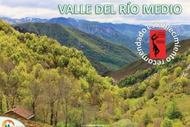Ruta Valle del río Medio desde Orle