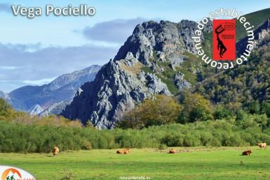Ruta de Vega Pociello desde Tarna, Asturias